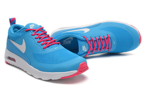 Womens Nike Air Max Thea Blue White Red